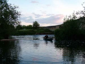 pa\ddling on the Ivel