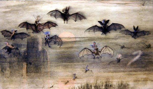 richard doylr a night of bats and elves