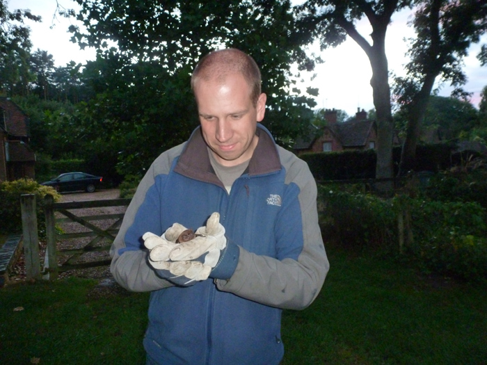 Simon says goodbye to the Noctule