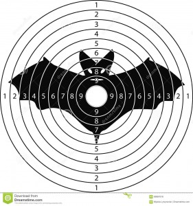 Image fromhttps://www.megapixl.com/shooting-target-bat-illustration-69987616